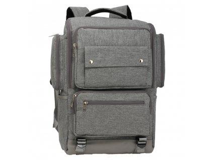 Pánsky ruksak Noah AG00613 1 sivý kabelky.sk