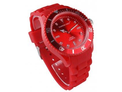 Unisex hodinky fashion only LSW0010 cervene 1 kabelky.sk