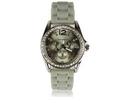 Dámske hodinky fashion only sivé LSW002 1 kabelky.sk