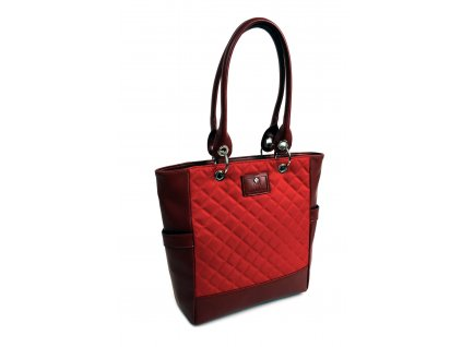 Dámska kabelka DOCA 14058 červená 1 kabelky.sk