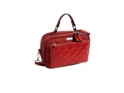 Crossbody kabelka DOCA 14327 červená 1 kabelky.sk