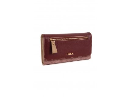 Peňaženka DOCA 65141 burgundy 1 kabelky.sk