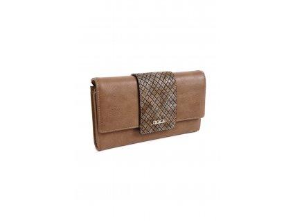Peňaženka DOCA 65169 hnedá 1 kabelky.sk