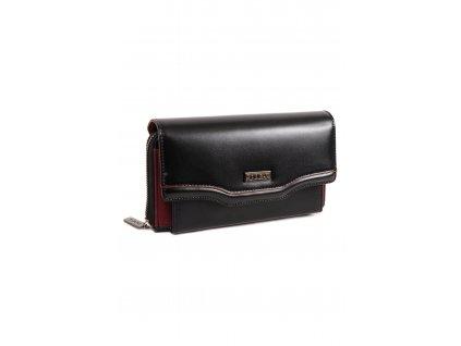 Peňaženka DOCA 65121 čierna 1 kabelky.sk