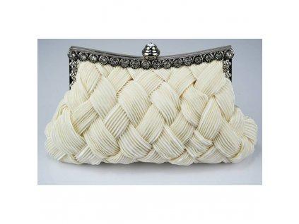 Spoločenská kabelka Royal - ivory