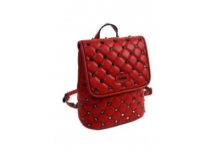 Dámsky batoh DOCA 14369 červený kabelky.sk