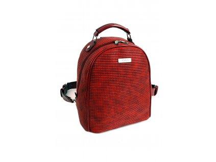 Damsky ruksak DOCA 14271 cerveny 1 kabelky.sk