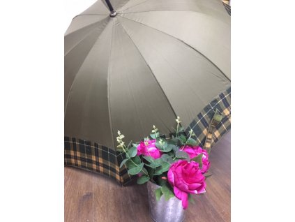 Dámsky dáždnik Tom&Eva XXL - kaki