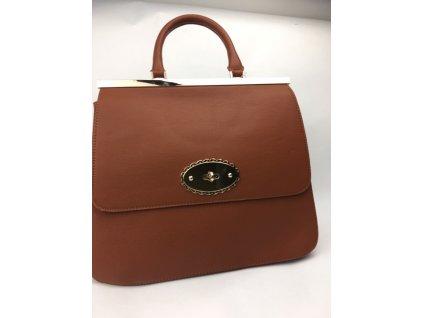 Dámska kabelka Closured - hnedá