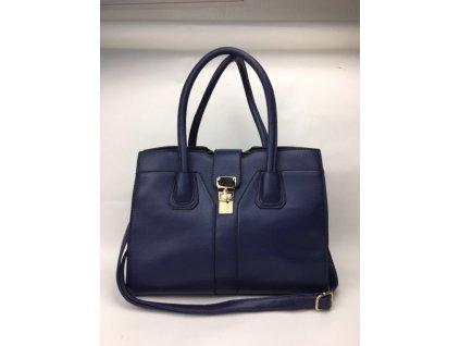 Dámska kabelka Lily - modro fialová