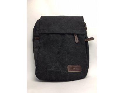 Pánska taška Kall - sivo čierna