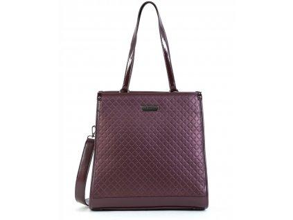 Dámska kabelka DOCA 15152 - fialová