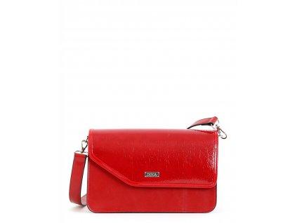 Crossbody kabelka DOCA 15170 - červená
