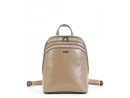 Dámsky ruksak DOCA 15320 - béžový