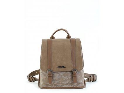 Dámsky ruksak DOCA 15648 - béžový