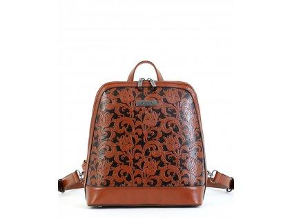 Dámsky ruksak DOCA 15144 - hnedý