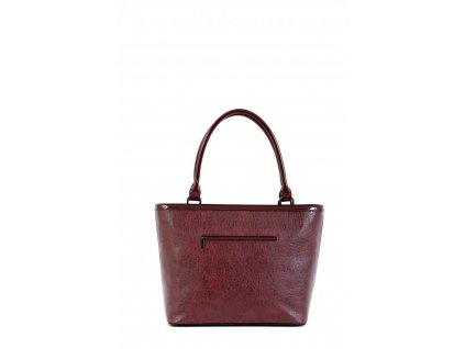 Dámska kabelka DOCA 15172 - fialová