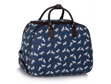 Cestovná taška Horse - námornícka modrá - navy