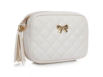 kabelka Tassy - biela