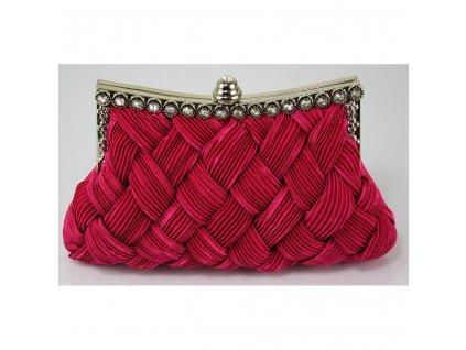 Spoločenská kabelka Royal - ružová