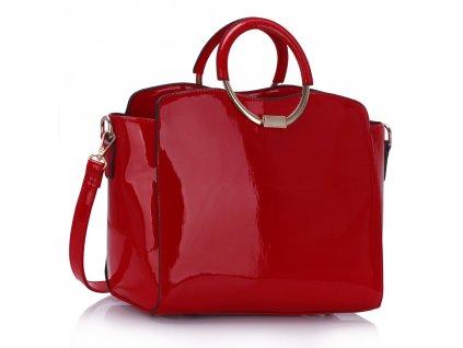 Kabelka Evelin - červená