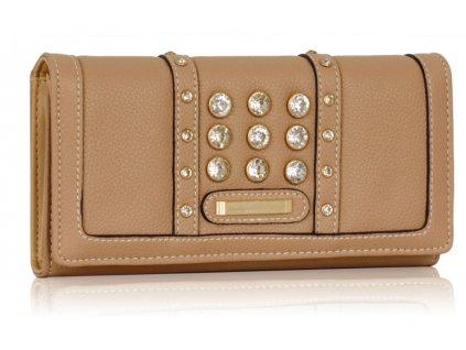 Peňaženka Crystal - nude