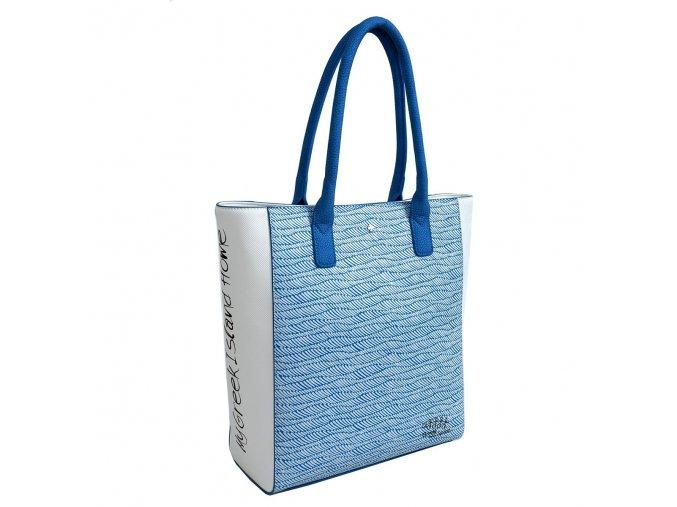 Kabelka DOCA 12421 - modrá
