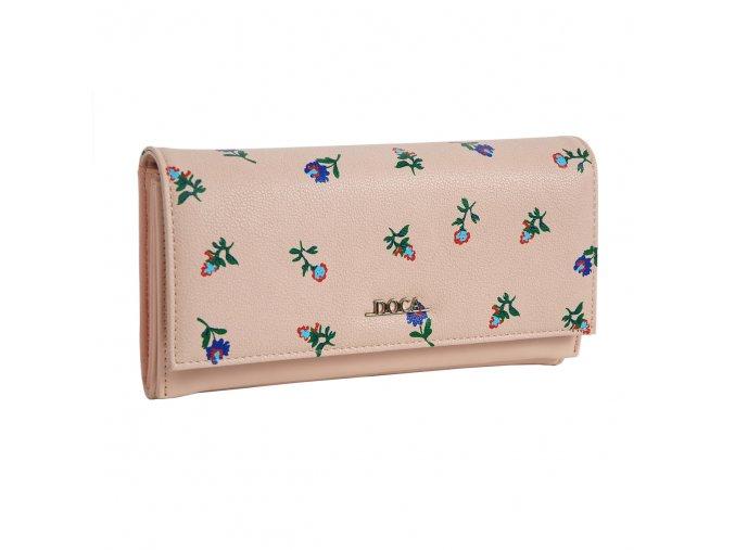 Peňaženka DOCA 64627 - ružová