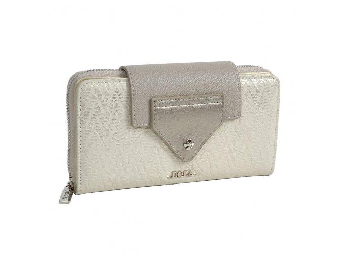 Peňaženka DOCA 64656 - šedá