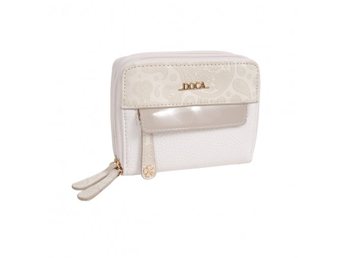 Peňaženka DOCA 64615 - biela