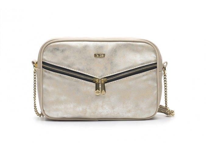 eng pl Crossbody Messenger bag FB01 gold 16753 6