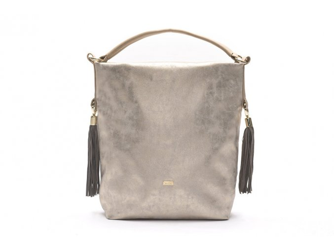 eng pl Shopper bag Felice Bolsa gold 16769 1