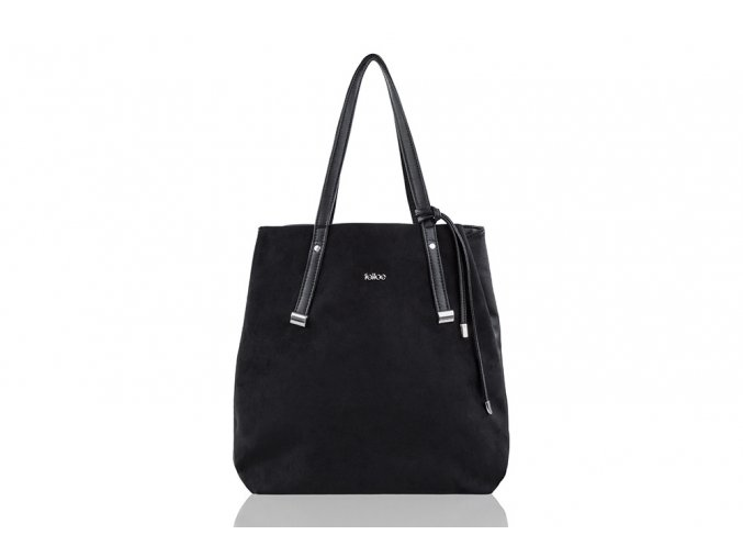 eng pl SHOPPER BAG FB06 RICA BLACK 18575 1
