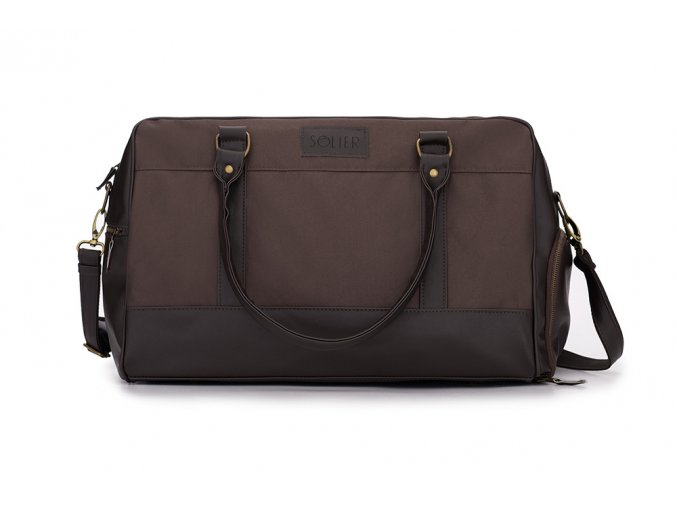 eng pl Sport mens weekend bag Solier GOVAN brown 16949 1