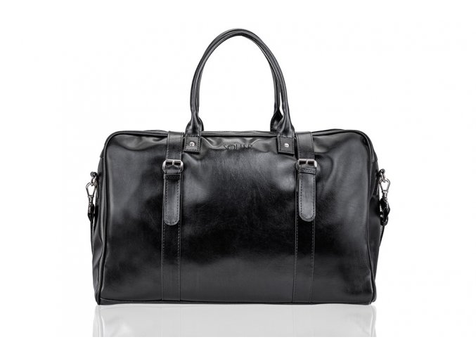 eng pl Black mens weekend bag SOLIER S16 16819 1