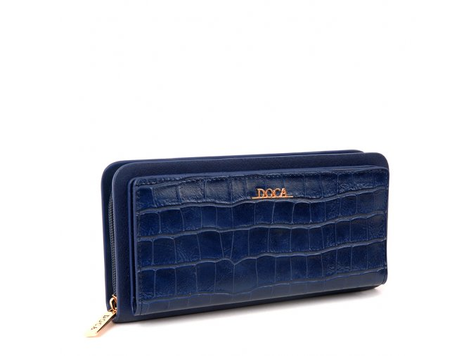 Peňaženka DOCA 64852 - modrá