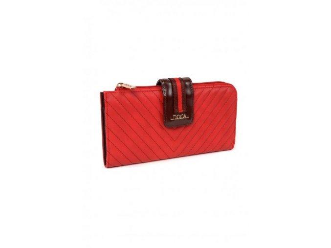 Peňaženka DOCA 64796 - červená