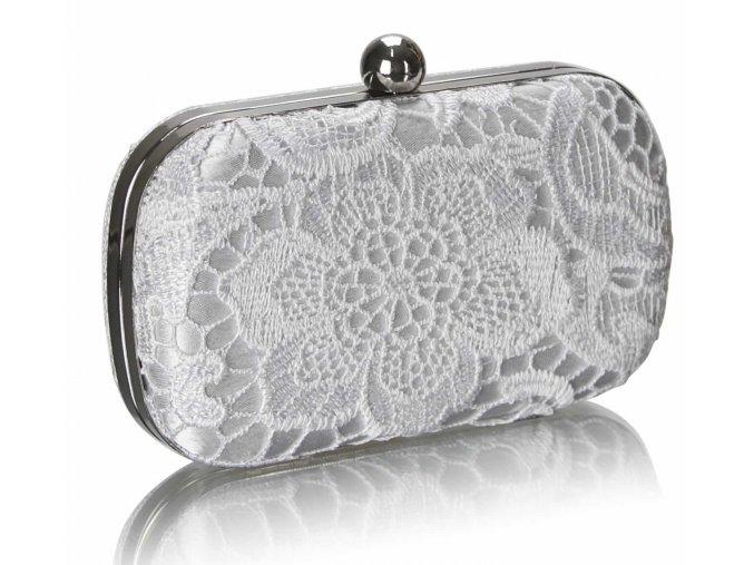 Spoločenská kabelka Classy - biela