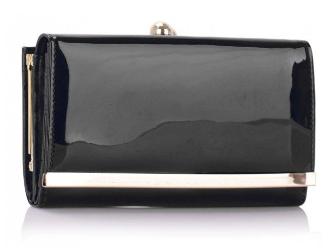 Peňaženka Lucky - čierna