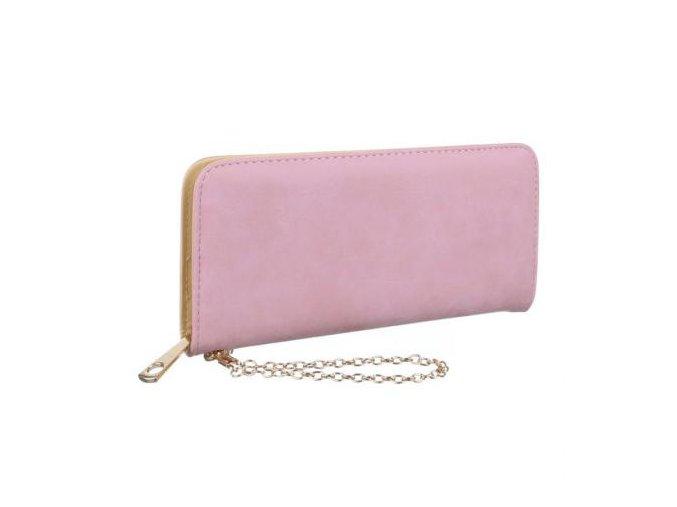 Dámska peňaženka fashionkorb GB MM13 ružová kabelky.sk