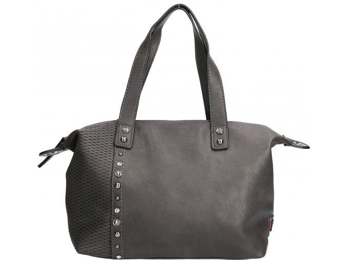 Dámska kabelka EMILY&NOAH - tmavo sivá