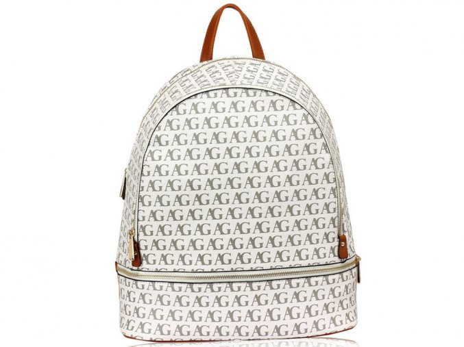 Dámsky ruksak AG533 WHITE 1 kabelky.sk