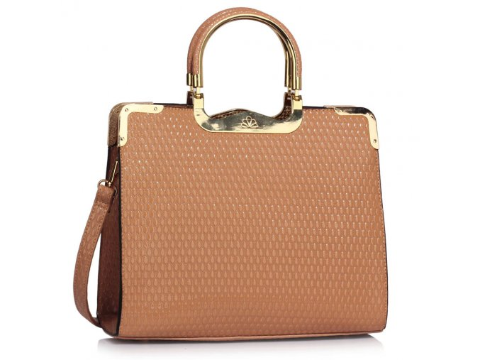 LSBAGS LS00294A NUDE kabelky.sk
