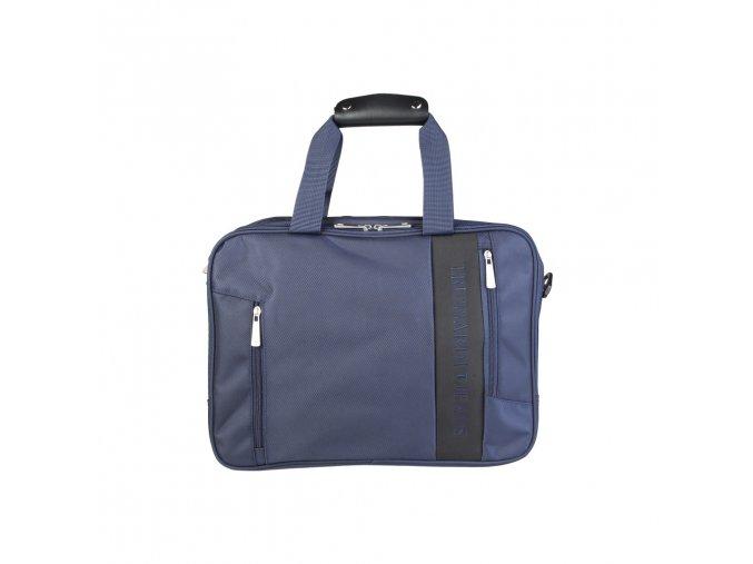 Pánska taška na laptop trussardi 17B960T modrá 1 kabelky.sk