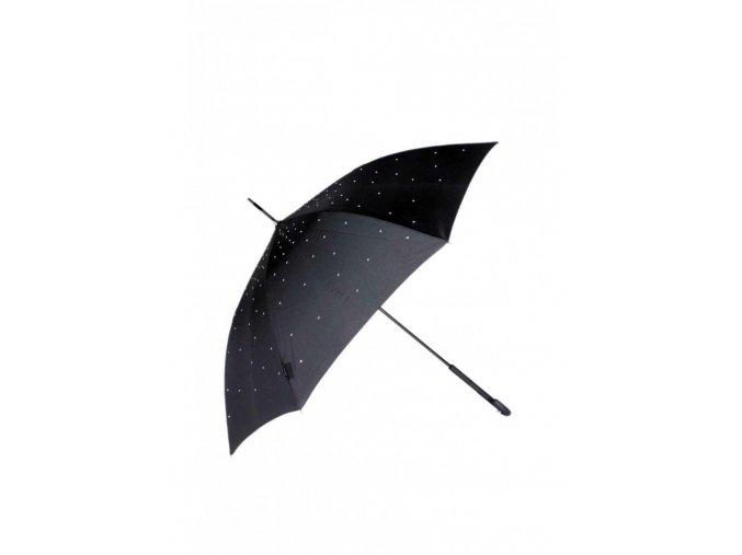 Dámsky dáždnik TOM&EVA SA1352 čierny kabelky.sk