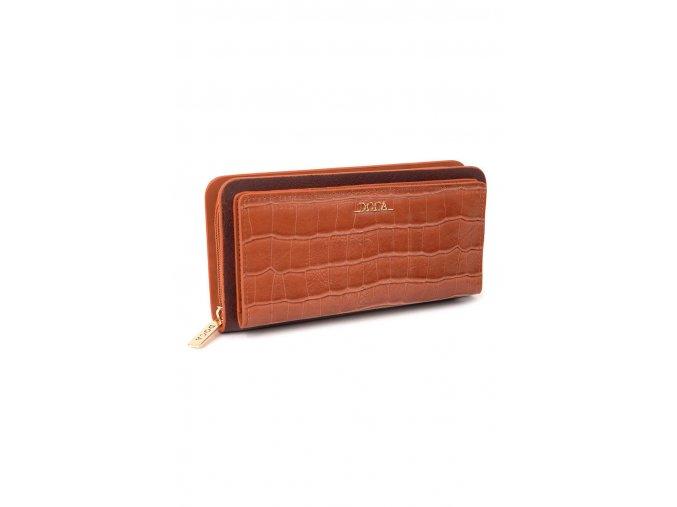Peňaženka DOCA 64854 - hnedá