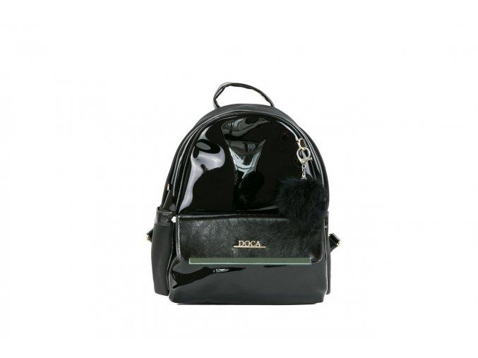 Dámsky ruksak doca 12995 čierny 1 kabelky.sk