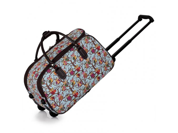 Cestovná taška Owl AGT00308 modrá 2 kabelky.sk