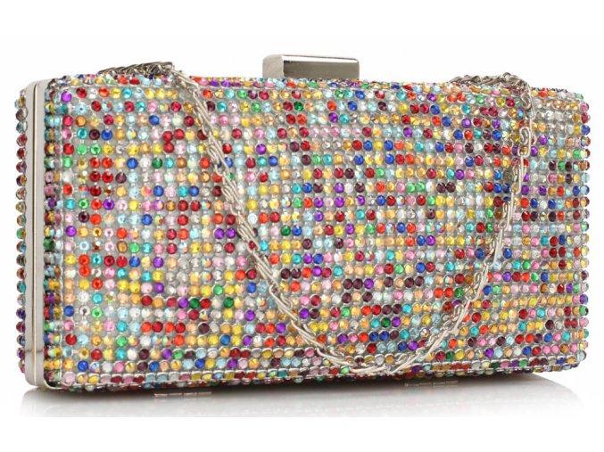 spoločenská kabelka disco LSE00190 multicolor 1 kabelky.sk