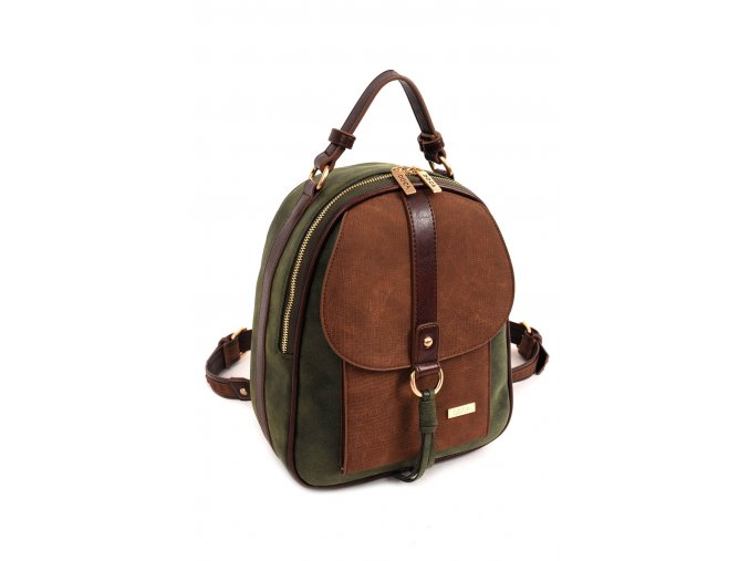 Dámsky batoh DOCA 14036 zelena 1 kabelky.sk